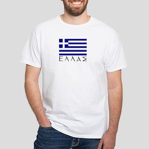Ellas White T-Shirt