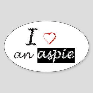 AspieMe Sticker (Oval)