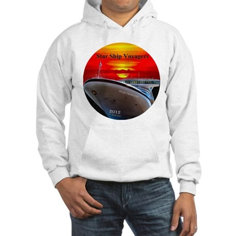 Star Ship Voyagers Cruise - Hooded Sweatshirt