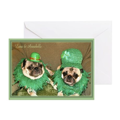 Lana & Annie St Patrick's Day Cards (Pk of 10)