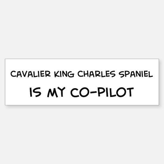Cavalier King Charles Spaniel Bumper Bumper Bumper Sticker
