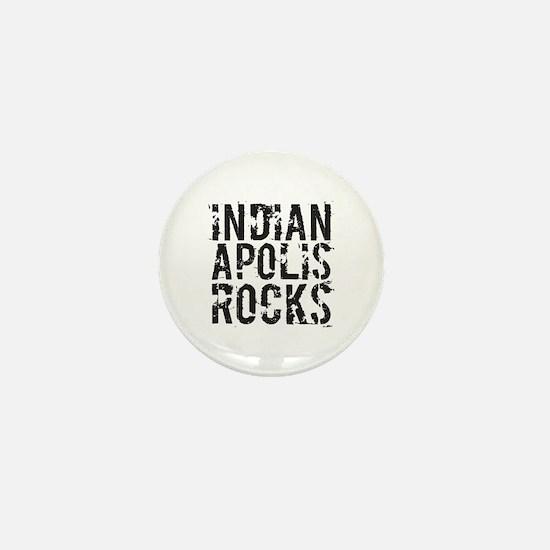 Indianapolis Rocks Mini Button