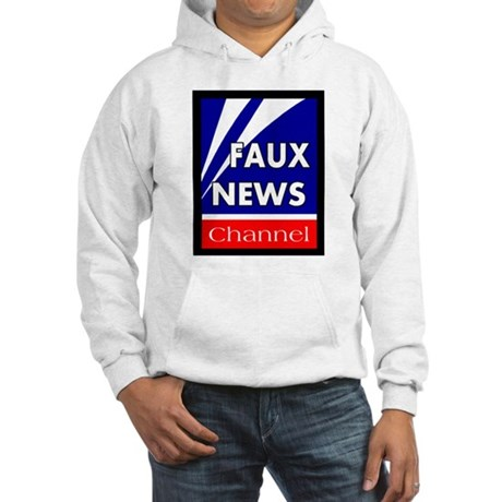 Faux News Hooded Sweatshirt
