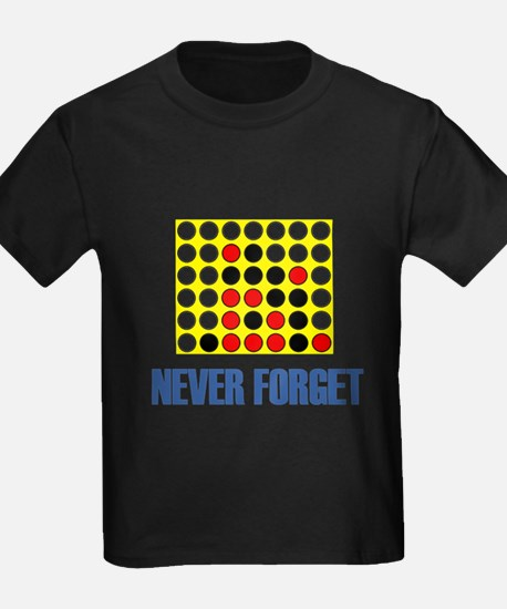 Never Forget Connect Four T