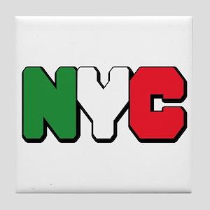 New york Italian Tile Coaster