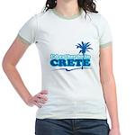 Rather Be in Crete Jr. Ringer T-Shirt