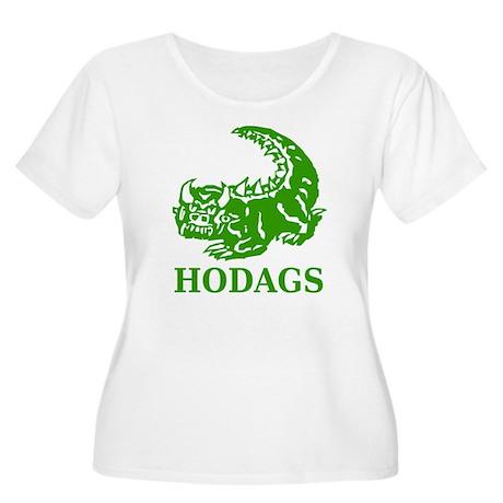 Rhinelander Hodag Women's Plus Size Scoop Neck T-S