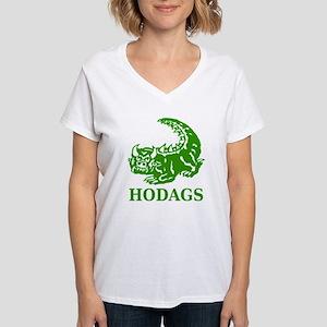 Rhinelander Hodag Women's V-Neck T-Shirt