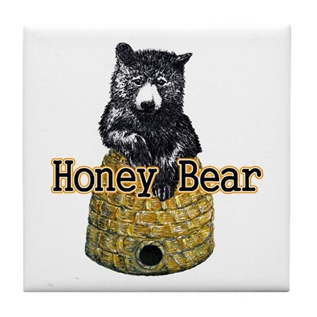 Honey Bear Tile Coaster