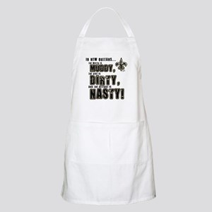New Orleans Muddy Dirty Nasty Apron