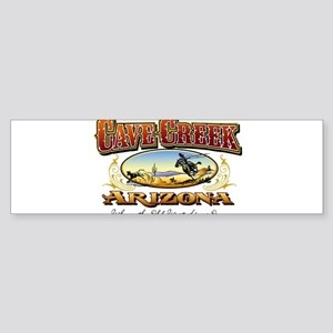 Cave Creek Roper Sticker (Bumper)