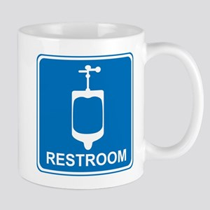 Restroom Sign 2 Mug