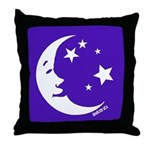 Dreamy Night Throw Pillow