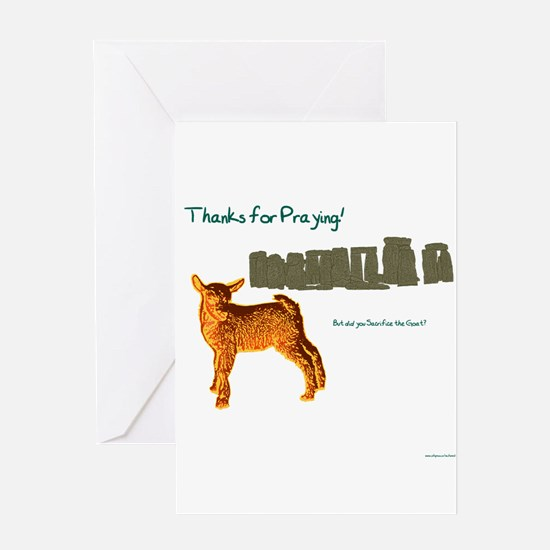Thanks for Praying! But did you Sacrifice the Goat