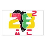 28 Squared AC Sticker (Rectangle 50 pk)
