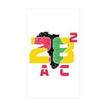 28 Squared AC Sticker (Rectangle 10 pk)