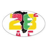 28 Squared AC Sticker (Oval 10 pk)