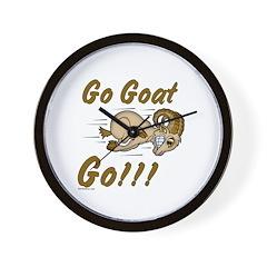 Funny Go Goat GO Wall Clock