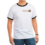 Amberfest Volunteer Ringer T-Shirt
