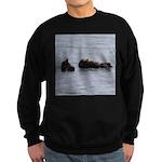 Sea Otters with Baby Sweatshirt