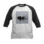 Mother and Baby Otter Baseball Jersey
