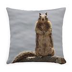 California Ground Squirrel Everyday Pillow