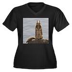 California Ground Squirrel Plus Size T-Shirt