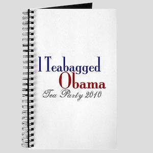 Teabag Obama 2010 Tea Party Journal