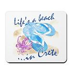Crete beach Mousepad