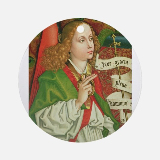 Archangel Gabriel - Annunciation - Round Ornament