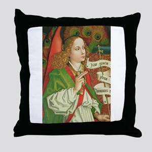Archangel Gabriel - Annunciation - Sc Throw Pillow