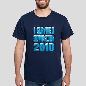 Snowmageddon 2010 Dark T-Shirt