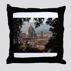 Duomo, Florence Throw Pillow