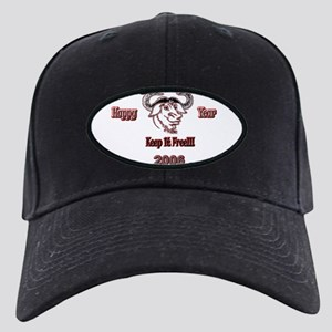 Happ GNU Year 2006 Black Cap