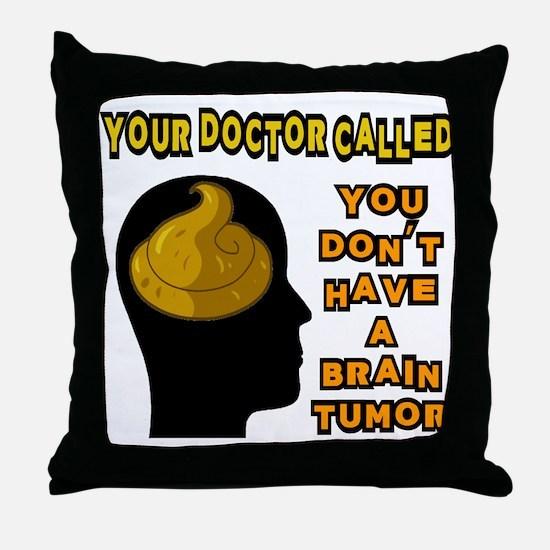 Shit Head Throw Pillow