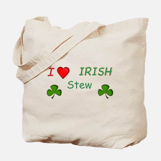 Love Irish Stew Tote Bag