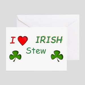 Love Irish Stew Greeting Cards (Pk of 10)