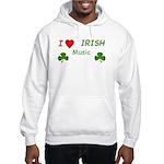 Love Irish Music Hooded Sweatshirt