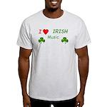 Love Irish Music Light T-Shirt