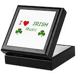 Love Irish Music Keepsake Box
