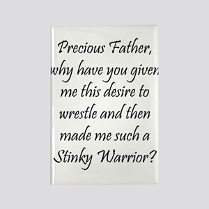 Stinky Warrior Rectangle Magnet