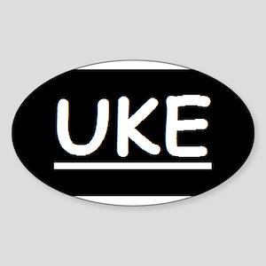 Uke Sticker (Oval)