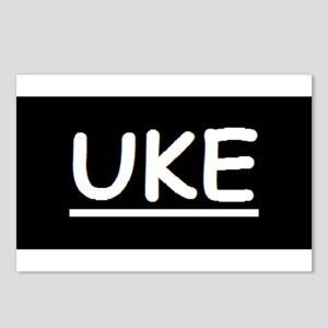 Uke Postcards (Package of 8)