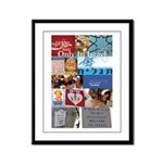 Only In Israel Framed Panel Print