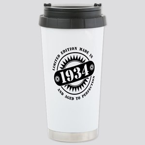 LIMITED EDITION M 16 oz Stainless Steel Travel Mug