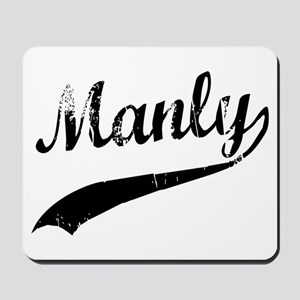 Manly Mousepad