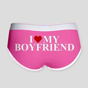 I Love My Boyfriend (heart) Women's Boy Brief