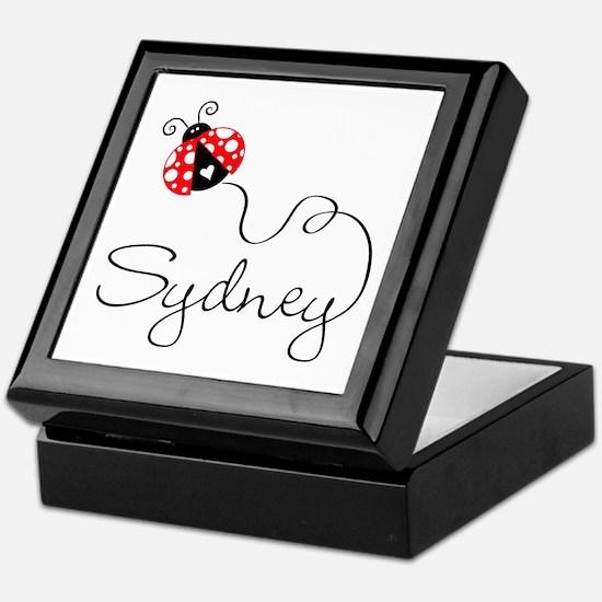 Ladybug Sydney Keepsake Box