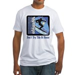 Skier Challenge Fitted T-Shirt
