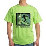 Skier Challenge Green T-Shirt